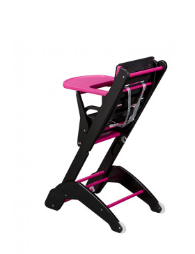 Chaise Twenty One Evo fuchsia / noir